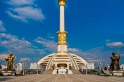 Monument to the Independence of Turkmenistan Ashgabat | Independence Monument (Ashgabat - Turkmenistan) | Yet anothe… | Flickr