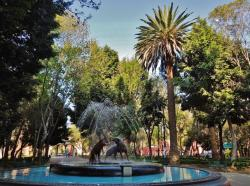 Monumento a la Revolución Mexico City | Panoramio - Photo of Jardin Centenario - Quartier de Coyoacan ...