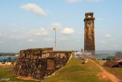 Moon Bastion Galle | Galle Fort Moon Bastion Stock Photo | Getty Images