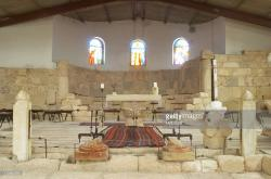 Moses Memorial Church Mt Nebo | Inside The Moses Memorial Church On Mount Nebo Pictures | Getty Images