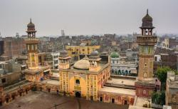 Mosque of Wazir Khan Lahore | Full View Of Wazir Khan Masjid In Lahore - FindMessages.com