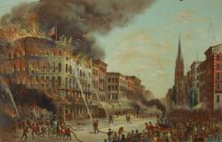 Museum of Jewish Heritage New York City | The fire at Barnum's American Museum 150 years ago - The Bowery ...