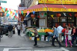 Museum of Modern Art New York City | 06-2 Vegetable and Fruit Market On Catherine St In Chinatown New ...