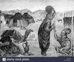 Museum of Oriental Art Moscow | Mazel Turkmen Nomads Pitching a Tent Painting Oriental Art Museum ...