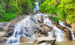 Na Muang Waterfall 2 Hat Lamai & the Southeast | Location - How to get to The Cliff Bar & Grill, Koh Samui, Thailand