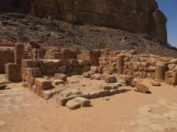 Nabataean Temple Wadi Rum | Jordan 2012 Day 8 – Desert of Wadi Rum | Escapes From The Little ...