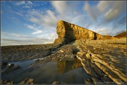 Nash Point South Wales   NASH POINT, WALES.   THE WELSH SPHINX   TIM WOOD   Flickr