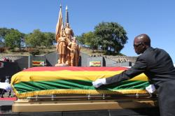 National Heroes' Acre Harare | History As Mugabe Buries 2 Cdes Same Day, Same Time - ZimEye ...