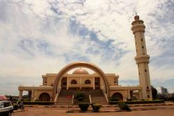 National Mosque Kampala | Uganda National Mosque (formerly known as Gaddafi National Mosque ...