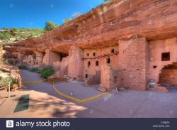 Navajo Bridge Interpretive Center Marble Canyon & Lees Ferry   Manitou Cliff Dwellings, a tourist attraction near Manitou Springs ...