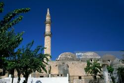 Neratze Crete | Neratze Minaret Rethymno Crete Greece Stock Photo | Getty Images