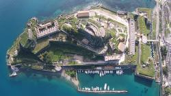 Old Fortress Corfu   Old Fortress Corfu Aerial View - YouTube