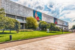 New Tretyakov Gallery Moscow | Facade of New Tretyakov Gallery, Moscow, Russia – Stock Editorial ...