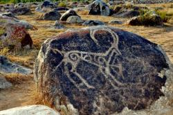 Nomad Museum Cholpon-Ata | Ancient Petroglyphs Of Cholpon-Ata And Mysterious Balbals Figures ...