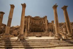 Nymphaeum Jerash | Jerash « Where in the World are the Brills?