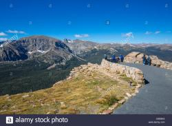 Old Fall River Road Rocky Mountain National Park | Viewe from Forest Canyon Overlook on Trail Ridge Road in Rocky ...