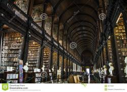 The Old Library and the Book of Kells Dublin | The Book Of Kells, The Long Room Library In Trinity College ...