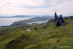 Old Man of Storr The Northern Highlands and the Western Isles | Camping on the Isle of Skye: The Skye Trail — a woman afoot