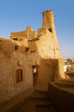 Old Mosque Siwa Oasis | Old Mosque Of Shali Fortress In Siwa Oasis Stock Photography ...