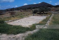 Olous Crete | Mosaic floor remains, Elounda, Crete Pictures | Getty Images