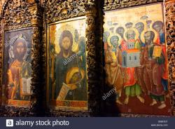 Onufri Museum Berat | Iconostasis in the Onufri Museum in the Cathedral of the ...