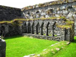 Oronsay Argyll and the Isles | Oronsay Priory was a monastery of canons regular on the island of ...