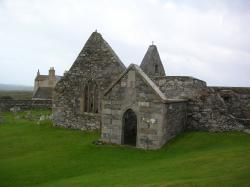 Oronsay Priory Colonsay | A lifetime of Islands: Island 172 - Oronsay, Colonsay, Inner ...