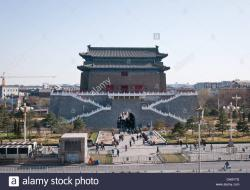 Pǔdù Temple Běijīng | Arrow Tower (Jian Lou) located in south part of Tiananmen Square ...