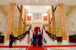 Palace of Nations Dushanbe | Secretary Kerry With Tajikistan President Rahmon at the Pa… | Flickr