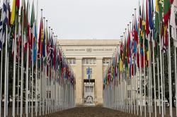 Palais des Nations Geneva | Palais des Nations, Geneva | The flags of the193 member stat… | Flickr