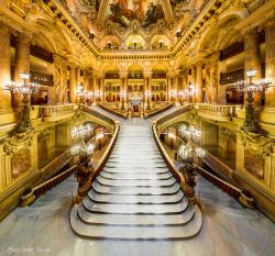 Parc des Buttes-Chaumont Paris | Staircases. The Grand Staircase at the Palais Garnier, home of the ...