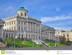 Pashkov House Moscow | Pashkov House, Moscow, Russia Stock Photo - Image: 60344876