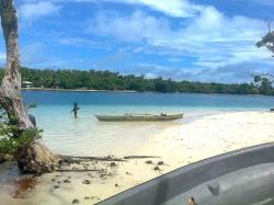 Passage Buka | Panoramio - Photo of Boy near Canoe in BUKA Passage, Bougainville ...