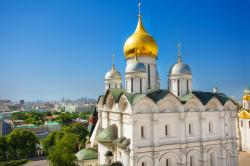 Patriarch's Palace Moscow | Cupola View Of Patriarch's Palace, Moscow Kremlin Stock Photo ...
