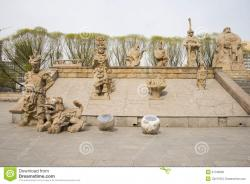 Pavilion of Spreading Righteousness Běijīng | Asian Chinese, Beijing, YuanDadu City Wall Relics Park, Sculpture ...