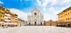 Piazza Santa Croce Florence | Piazza Santa Croce Florence Tuscany - Square of the Holy Cross ...