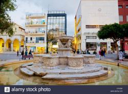 Platia Kornarou Crete | Iraklio Square Stock Photos & Iraklio Square Stock Images - Alamy