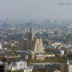 Ploshchad Kudrinskaya Moscow | View from the 56th floor of Zapad, Kudrinskaya Ploshchad 1, Moscow ...