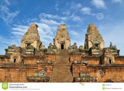 Pre Rup Temples of Angkor | Pre Rup Temple In Angkor, Cambodia Stock Image - Image: 23355127