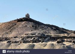 Qubbet Al Hawa Aswan | Tombs of Nobles and Qubbet el Hawa or Dome of the Winds Aswan ...