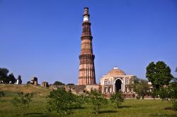 Qutub Minar Delhi | QUTUB-MINAR AT NEW DELHI ~ HISTORY OF INDIA