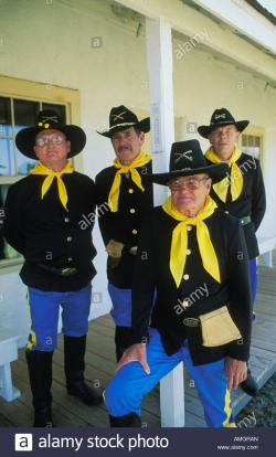 Red Fleet State Park Vernal | Costumed docents in 1st US Cavalry Uniforms at the Fort Verde ...