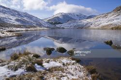 Rest and Be Thankful Argyll and the Isles | Snow And Ice Loch Restil Rest And Be Thankful Arrachar Argyll ...