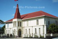 Robert Louis Stevenson Museum Rarotonga, Samoa & Tonga | South Pacific Pictures - travel photos of Pacific buildings