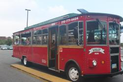 Rock and Roll Hall of Fame and Museum Cleveland | Susan's Disney Family: Lolly the Trolley, a great way to see ...