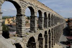 Roman Aqueduct Amman | The Roman Aqueduct at Segovia is one of the best preserved Roman ...