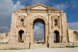 Roman Ruins of Jerash Jerash | JORDAN - Roman ruins of Jerash, Umm Qais and the Ajlun Castle in a ...