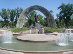 Rudaki Park Dushanbe | Panoramio - Photo of Rudaki Statue in Rudaki Park