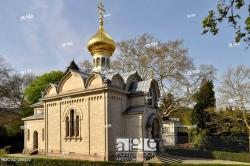 Russian church The Black Forest | Russian Orthodox Church, Baden-Baden, Black Forest, Germany, Stock ...