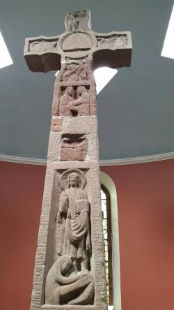 Ruthwell Cross South of Dumfries   8 best Ruthwell images on Pinterest   Anglo saxon, Scotland and ...